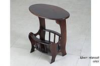 Столик газетница из массива.Мебель для дома.
