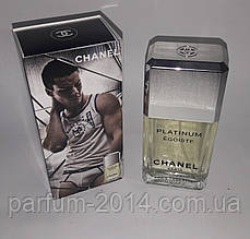 Мужская туалетная вода Chanel Egoiste Platinum 100 ml (Без слюды) (реплика)