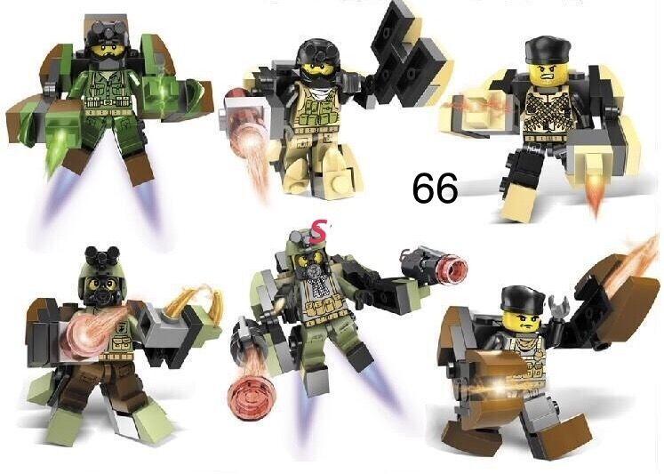 Минифигурки swat спецназовцы военные армия лего Lego BrickArms