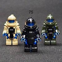 Одежда защитный костюм сапера фигурки SWAT спецназ военные Lego Лего