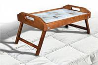 Столик деревянный. Столик для завтрака в постель.