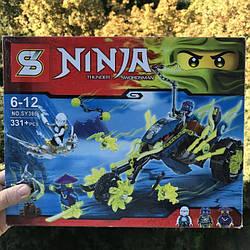"Конструктор ниндзяго sy386 Lego Ninjago ""Засада на мотоцикле"" 70730"