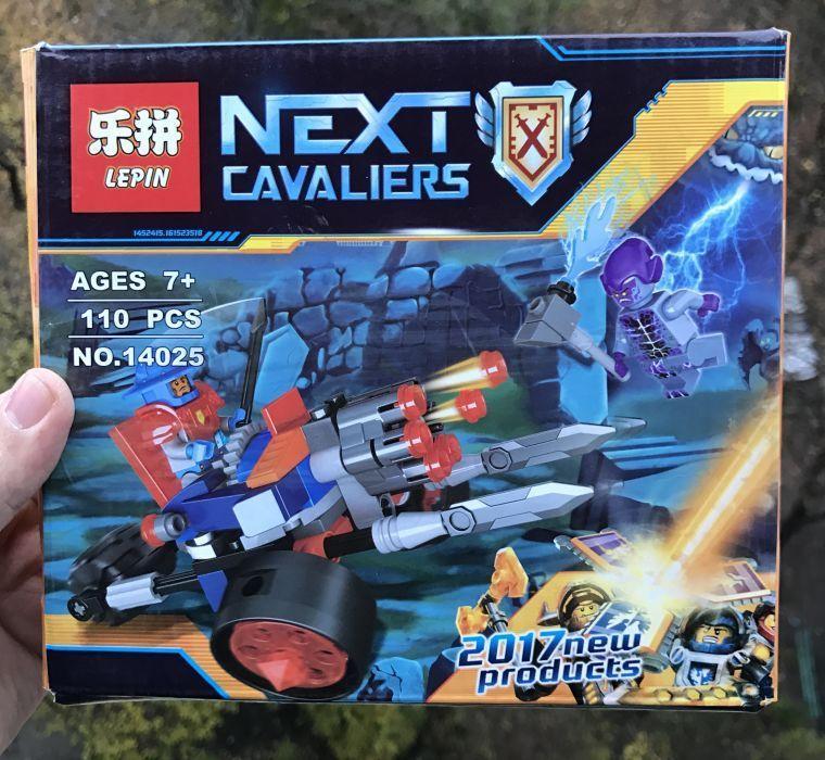 70347 Nexo Knight Самоходная артиллерийская установка Lepin 14025 нексо найтс