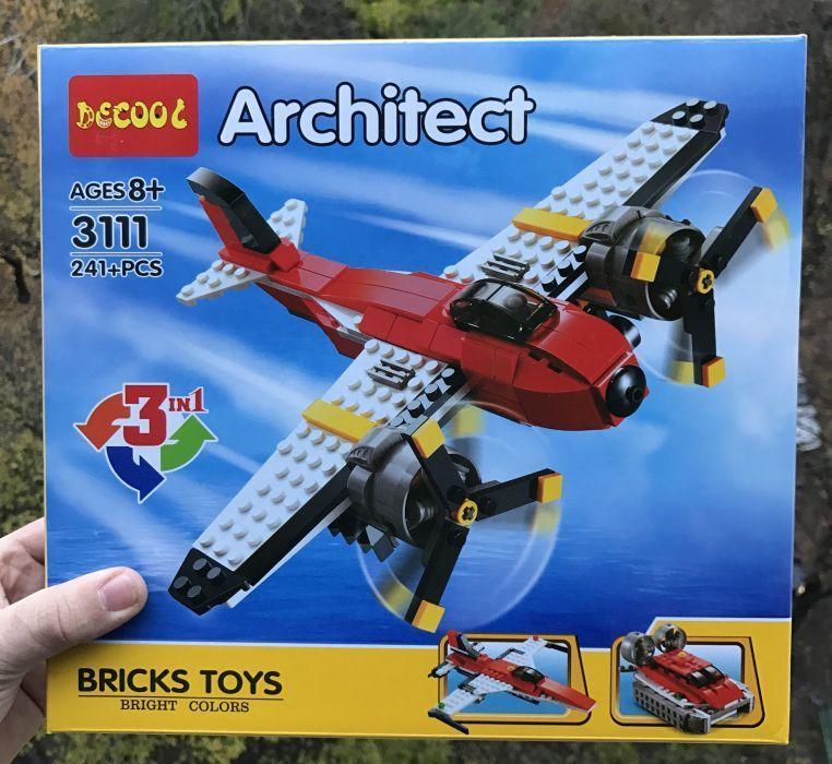 Конструктор Decool Architect 3111 3-в-1, 241+ дет Лего Lego