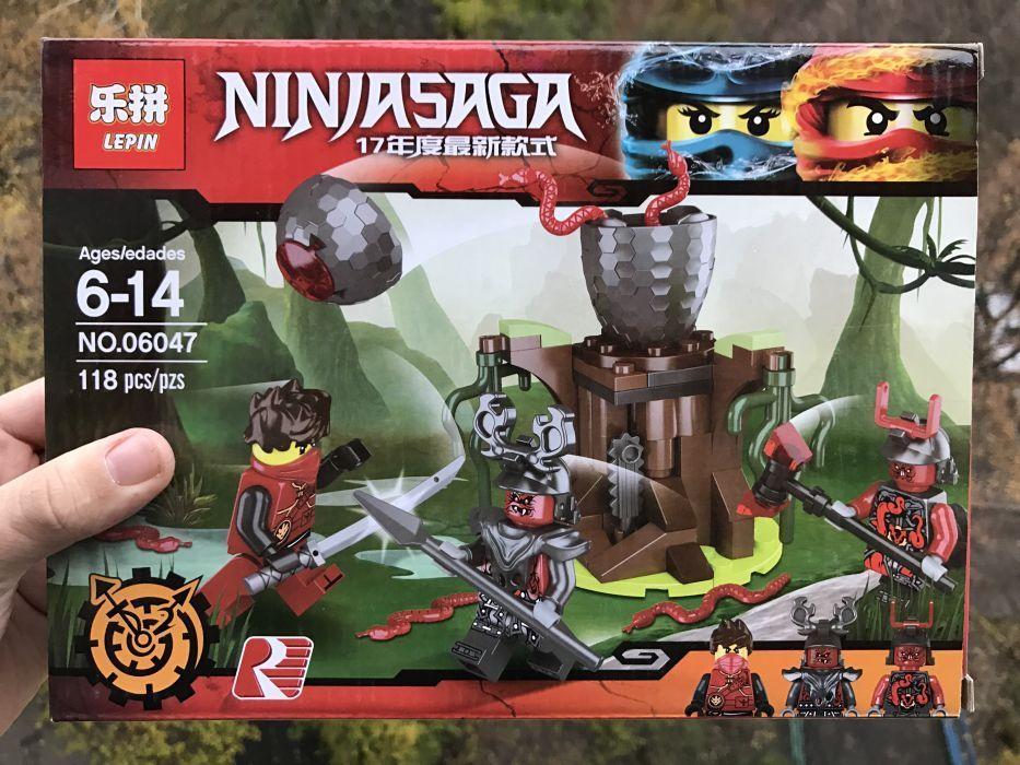"""Конструктор Lepin Ninjago 06047 """"Атака Алой армии"""" Аналог Lego 70621"""