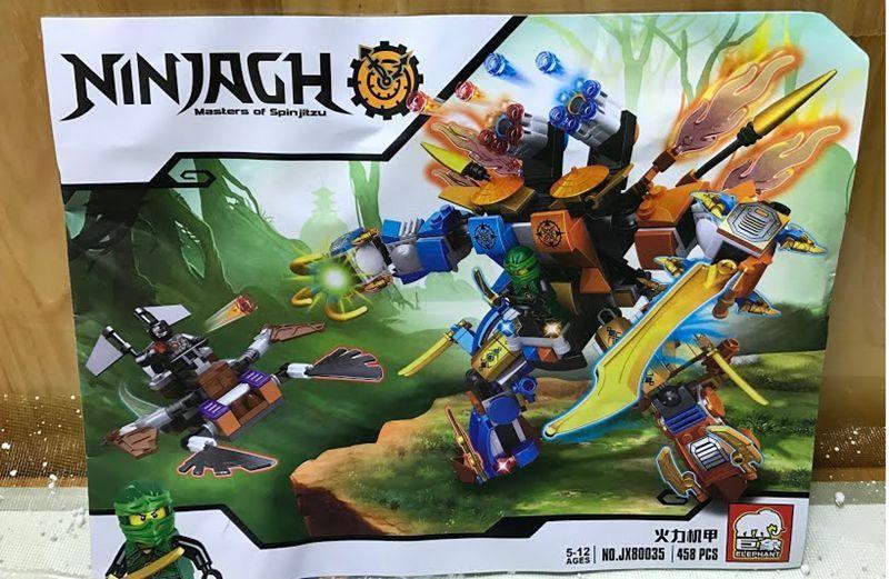 Конструктор NJ Робот (JX80035) ниндзяго Ninjago Лего Lego