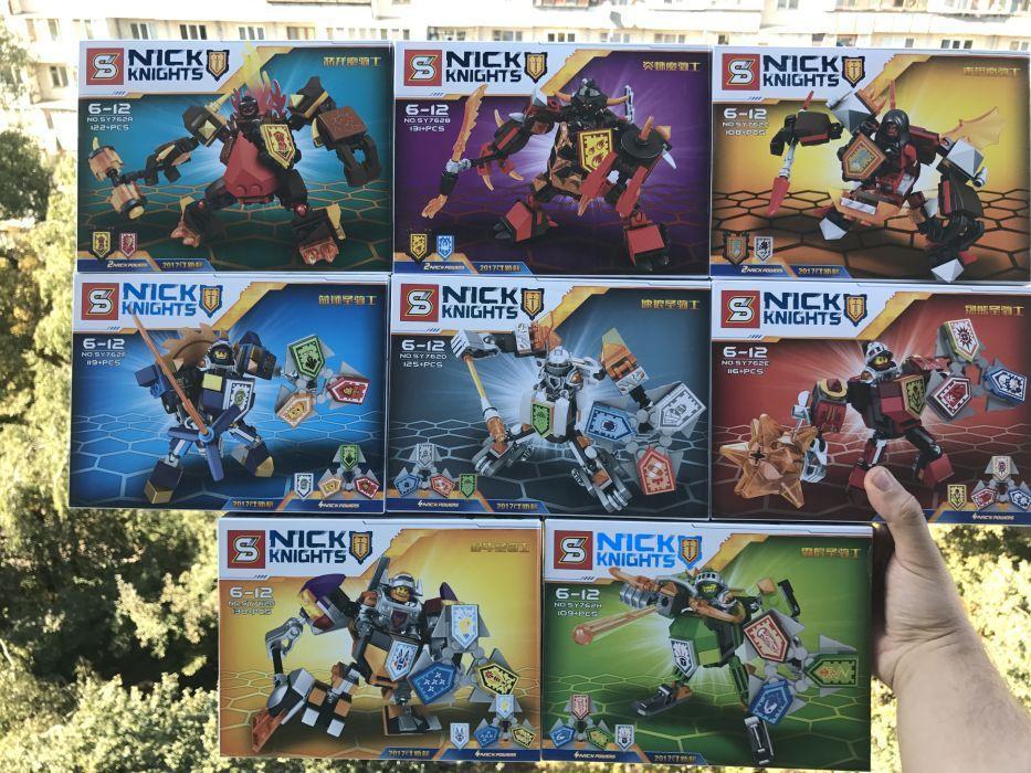 Нексо найтс Аналог Lego SY762 Nexo Knights Mech Robot (8 in 1)