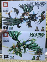 Конструктор SY554/550 дракон Коула/Ллойда лего ниндзяго ninjago Lego