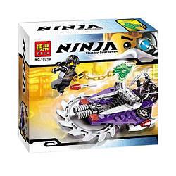Конструктор Ninjago 10218 Летающий охотник Bela аналог Lego 70720 ниндзяго