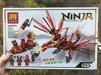 "Конструктор ninjago Lele 31016 ""Красный дракон"" ниндзяго"