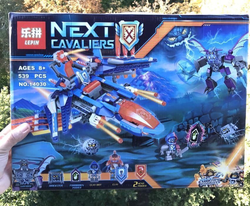 Nexo Knight 70351 Самолёт-истребитель Сокол Клэя Lepin 14030 нексо найтс