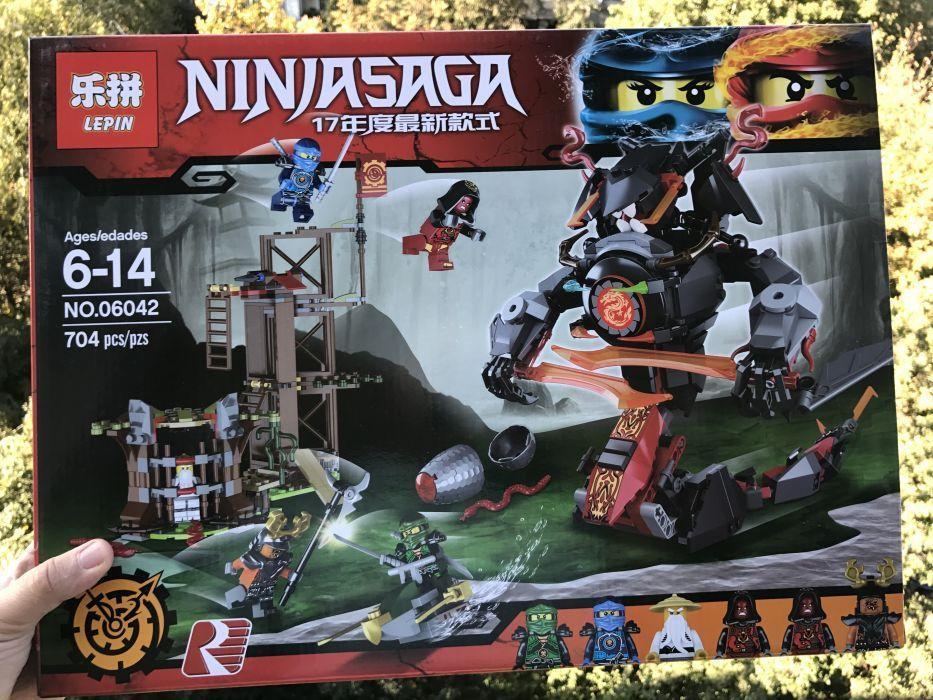 Конструктор аналог Lego Ninjago 70626 Железные удары судьб Lepin 06042