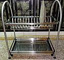 Сушка для посуды двухъярусная GA Dynasty 17307, фото 4