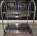 Сушка для посуды двухъярусная GA Dynasty 17307, фото 5