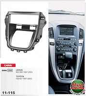 Рамка переходная Carav 11-115 Lexus RX -300 1DIN