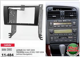 Рамка переходная Carav 11-484 Lexus GS 97-05/Toyota Aristo (S160) 97-04 (without navigation) 2DIN