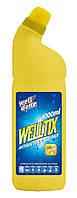 Дезинфицирующее средство WELLTIX с ароматов лимона 1000 мл.