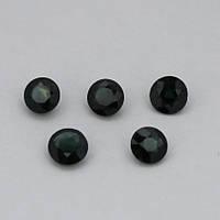 Сапфир синий круг 5 мм. 0,60 карат