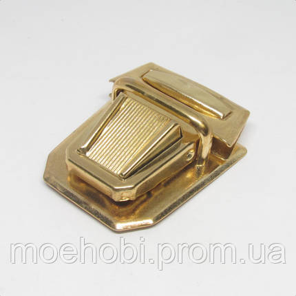 Замок для сумки  золото  4584, фото 2