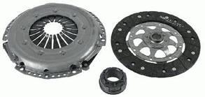 Комплект сцепления AUDI A4, AUDI A6, VW PASSAT 3000 951 210 SACHS