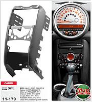 Рамка переходная Carav 11-179 Mini Hatch 2,  Cabrio 2,  Clubman, Clubvan,  Coupe, Roadster 12+ 2DIN