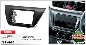 Рамка переходная Carav 11-441 Mitsubishi Lancer IX 2 DIN