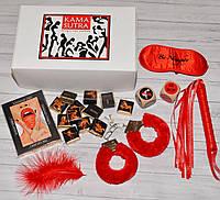 Набор эротический Камасутра Red 6 в 1, фото 1