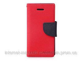 Чехол-книжка LG Magna H502/Y90, красный