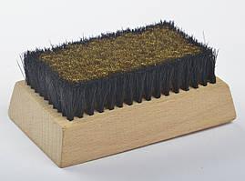 Щетка FAVOR для замши, комбинированная, 17,6*6,6 см