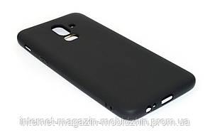 Чехол силиконовый Samsung J810/J8 2018 черный Honor Umatt