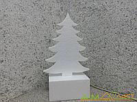 Елка классическая из пенопласта на подставке высотой 32см   толщина 2см от 5и шт