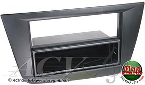 Рамка переходная ACV 281328-33 Seat Leon (05->) black