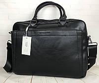 Красивая мужская сумка-портфель для документов David Jones. КС94