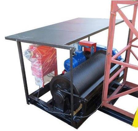 Строительный подъемник мачтовый секционный ПМГ г/п-1000.  Подъёмники мачтовые строительные на 1 тонну. Н-51 м, фото 2