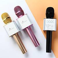 Беспроводной караоке микрофон MICGEEK q9 с чехлом 2600 mAh, фото 1