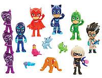 Большой игровой набор фигурок Герои в масках Оригинал   PJ Masks Deluxe Figure Set
