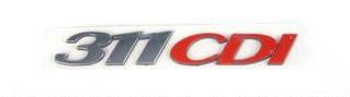"""Напис """"311CDI"""" MB Sprinter 06- (для задніх дверей) (RWS1441) ROTWEISS"""