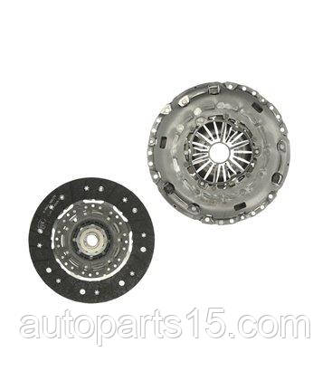 Комплект сцепления AUDI A3, SEAT ALTEA, VW CADDY IV, VW PASSAT 624 3553 09 LUK