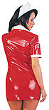 Лаковый костюм Медсестра (XL), фото 2
