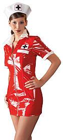 Лаковый костюм Медсестра (XL)