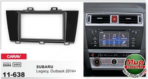 Рамка переходная Carav 11-638 Subaru Legacy /Outback 2014+