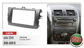Рамка переходная Carav 08-003 Toyota Corolla 2007+ 2DIN