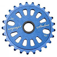 Звезда к шатуну STOLEN 25T Class chainring CNC Dark Blue 5mm 6061