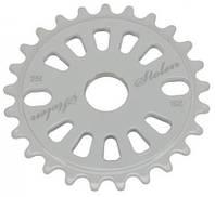 Звезда к шатуну STOLEN 25T Class chainring CNC White 5mm 6061