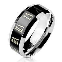 Мужское кольцо из стали Spikes R-M2312 - р. 18, 19, 20, 20.5, 21.5, 22