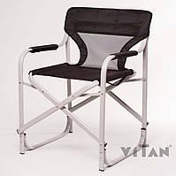 """Кресло Vitan """"Режиссерское"""" алюминий (черный), фото 1"""