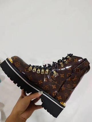 Женские ботинки Louis Vuitton. Зима и осень купить в Украине, фото 2