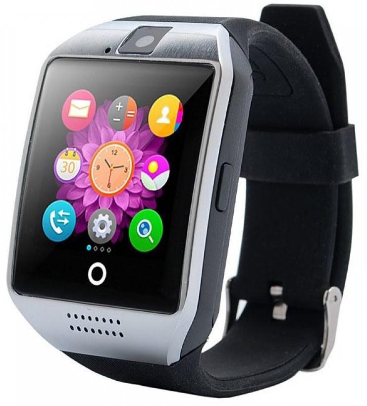 Часы Smart Watch Q18 Silver Гарантия 1 месяц