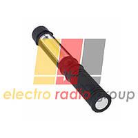 Фонарик RH MAGNET PEN 3W  LED метал 2*AAA черный