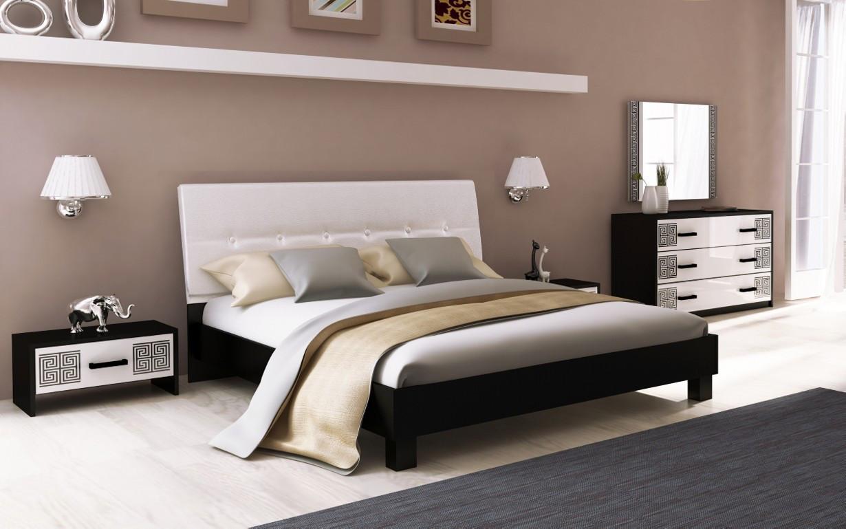 Кровать Виола Мягкая спинка с механизмом 160х200 см. МироМарк